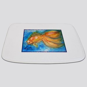 Goldfish, fun art! Bathmat