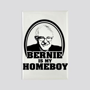 Bernie Sanders is my homeboy Rectangle Magnet