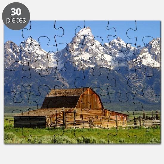 Grand Tetons Naional Park Puzzle
