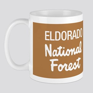 Eldorado National Forest (Sign) Mug