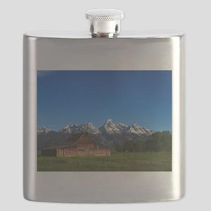 Grand Tetons Naional Park Flask