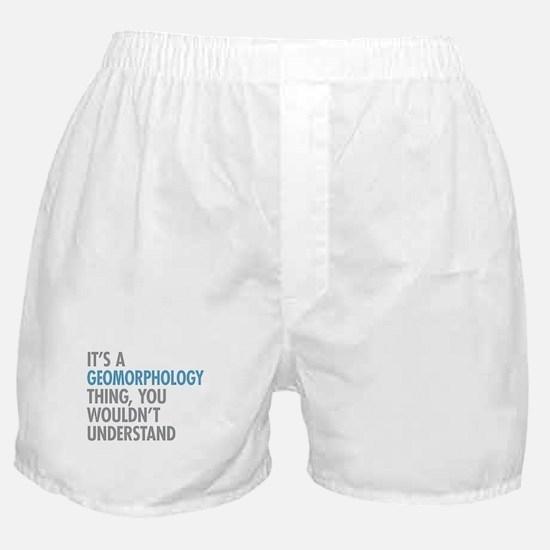 Geomorphology Thing Boxer Shorts
