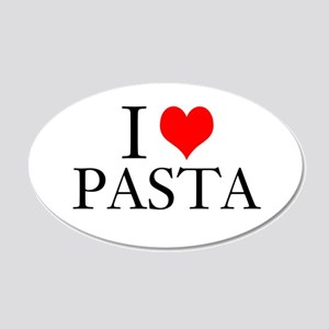 I Heart Pasta Wall Decal