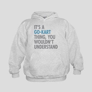Go-Kart Thing Kids Hoodie