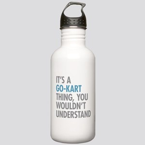 Go-Kart Thing Stainless Water Bottle 1.0L