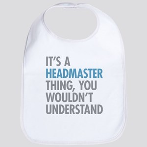 Headmaster Thing Bib