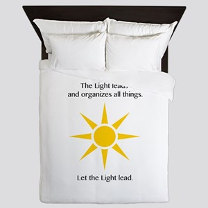 Light Leading Gifts Queen Duvet