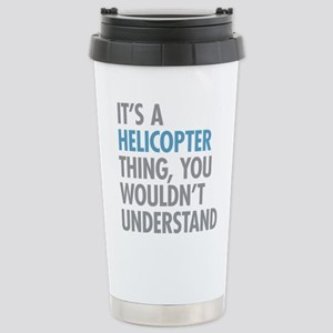 Helicopter Thing Stainless Steel Travel Mug