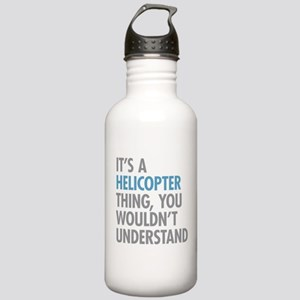 Helicopter Thing Stainless Water Bottle 1.0L