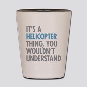 Helicopter Thing Shot Glass