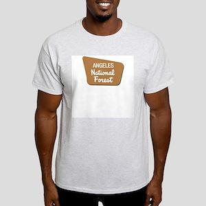 Angeles (Sign) National Forest Light T-Shirt
