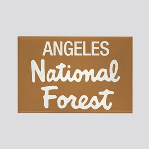 Angeles (Sign) National Forest Rectangle Magnet
