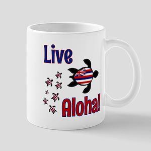 Live Aloha! Hawaii Mug