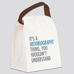 Historiography Thing Canvas Lunch Bag