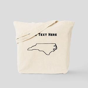 North Carolina Outline (Custom) Tote Bag