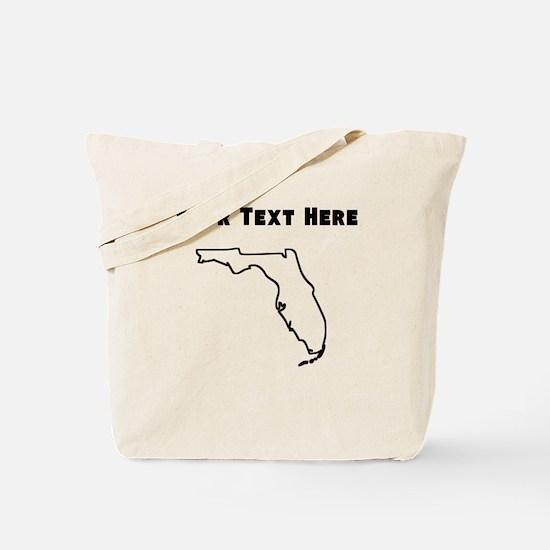 Florida Outline (Custom) Tote Bag