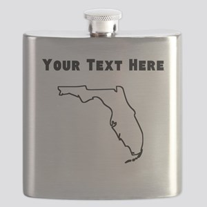 Florida Outline (Custom) Flask