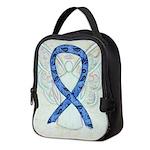 Thyroid Disease Ribbon Neoprene Lunch Bag