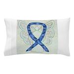 Thyroid Disease Ribbon Pillow Case