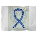 Thyroid Disease Ribbon Pillow Sham