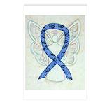 Thyroid Disease Ribbon Postcards (package Of 8)