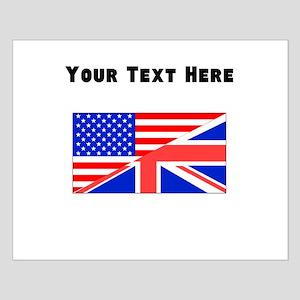 British American Flag Posters