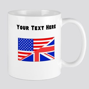 British American Flag Mugs