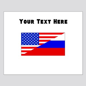 Russian American Flag Posters
