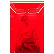 Man in Red Poster