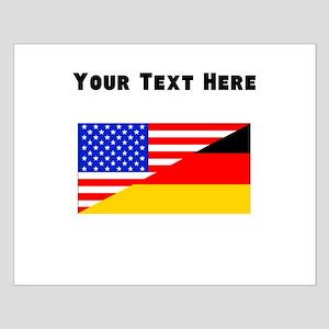 German American Flag Posters
