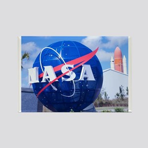 NASA Globe Rectangle Magnet