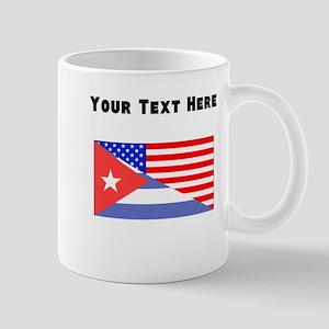 Cuban American Flag Mugs