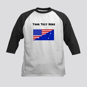 Australian American Flag Baseball Jersey
