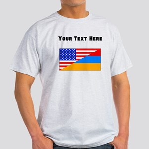 Armenian American Flag T-Shirt