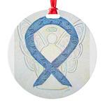 Thyroid Disease Ribbon Ornament