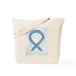 Thyroid Disease Ribbon Tote Bag