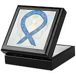 Thyroid Disease Ribbon Keepsake Box