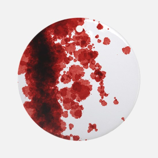 Bloody Mess Round Ornament