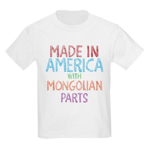 Mongolian Parts T-Shirt