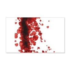 Bloody Mess Wall Decal Sticker