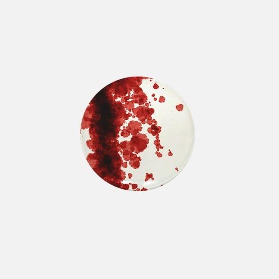 Bloody Mess Mini Button