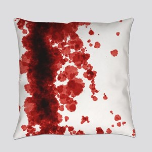 Bloody Mess Everyday Pillow