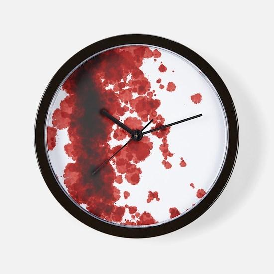 Bloody Mess Wall Clock