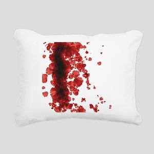 Bloody Mess Rectangular Canvas Pillow