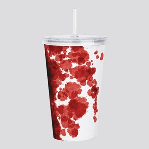Bloody Mess Acrylic Double-wall Tumbler