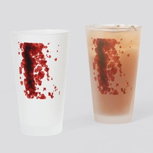 Bloody Mess Drinking Glass