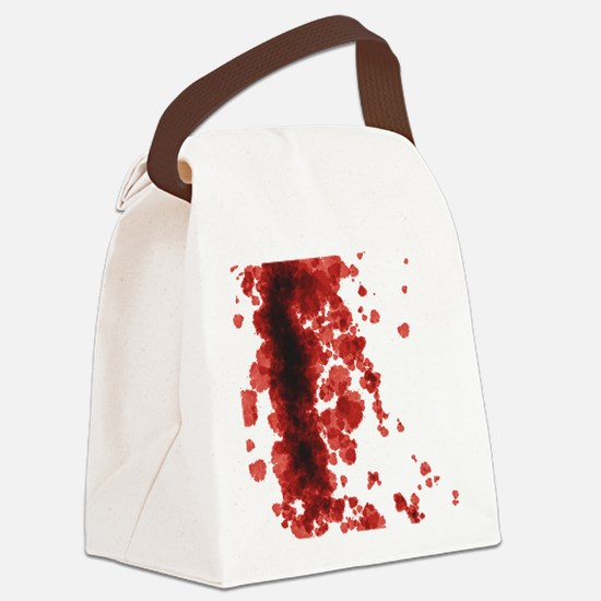 Bloody Mess Canvas Lunch Bag
