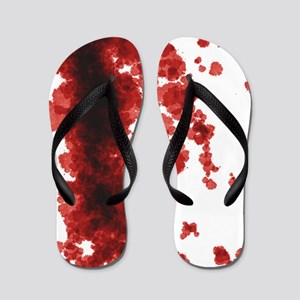 Bloody Mess Flip Flops