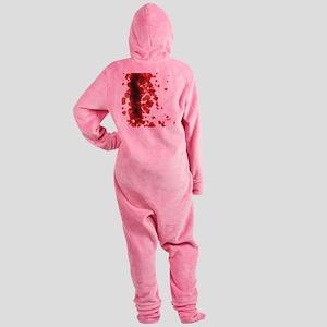 Bloody Mess Footed Pajamas