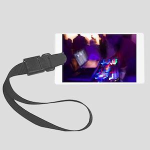 DJ lights Large Luggage Tag